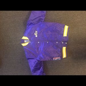 Utah Jazz bomber jacket